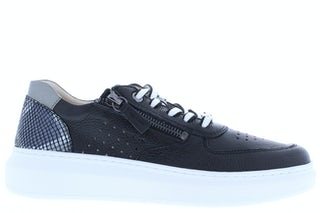 Regarde le Ciel Samia 12 black combi Damesschoenen Sneakers
