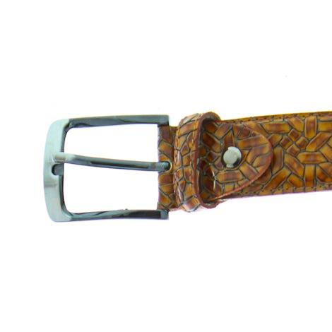 Rehab Belt weave 420 4000 brown Riemen Riemen