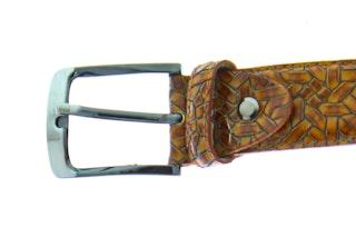Rehab Belt weave 420 4000 brown 092200002