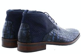 Rehab Fredo croco dark blue Herenschoenen Boots
