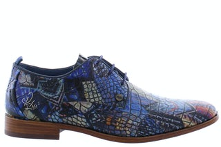 Rehab Greg city dark blue Herenschoenen Veterschoenen