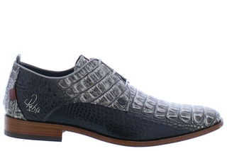 Rehab Greg croco vernis dark grey 240890011 01
