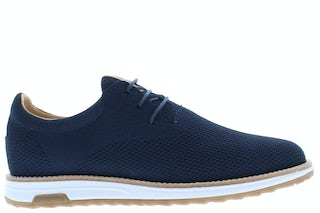 Rehab Nolan knit dark blue Herenschoenen Veterschoenen