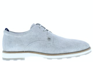 Rehab Pozato stripes grey Herenschoenen Veterschoenen