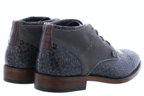 Rehab Salvador weave dark grey Herenschoenen Boots