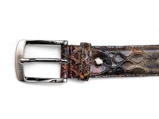 Rehab belt snake verniz brown 092200001