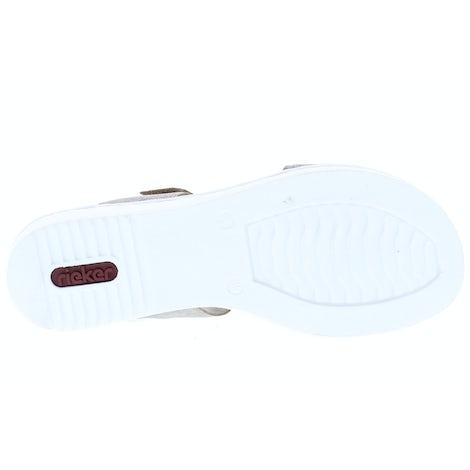 Rieker 63687-64 Fango-Silver Sandalen Sandalen