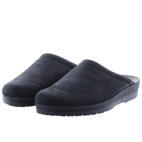 Rohde 2762/90 schwarz Pantoffels Pantoffels