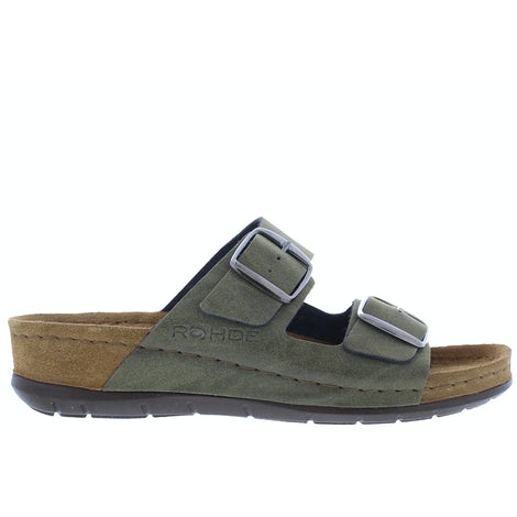 Rohde 5856/61 Olive Slippers Slippers