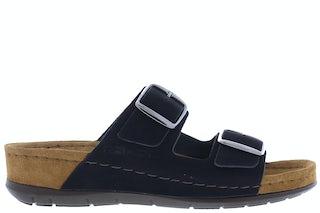 Rohde 5856/90 Schwarz Damesschoenen Slippers