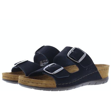 Rohde 5856/90 Schwarz Slippers Slippers