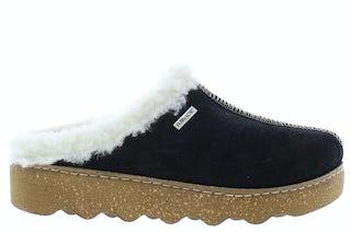 Rohde 6125 90 black Damesschoenen Slippers