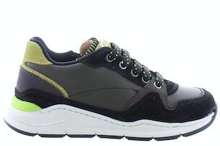 Romagnoli 6280 nero salvia Jongensschoenen Sneakers