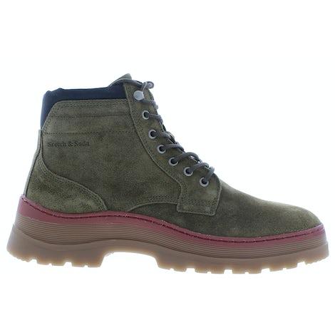Scotch & Soda Maffei 23843387 S744 army green Boots Boots