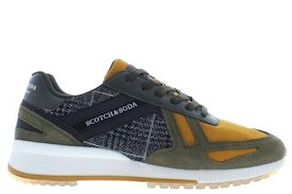 Scotch & Soda Vivex 23833416 S707 dark green Herenschoenen Sneakers