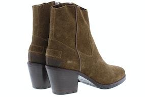 Shabbies 183020166 warm brown Damesschoenen Enkellaarsjes