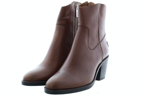 Shabbies 183020170 brown Damesschoenen Enkellaarsjes