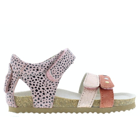 ShoesMe BI21S076-A coral Sandalen en slippers Sandalen en slippers