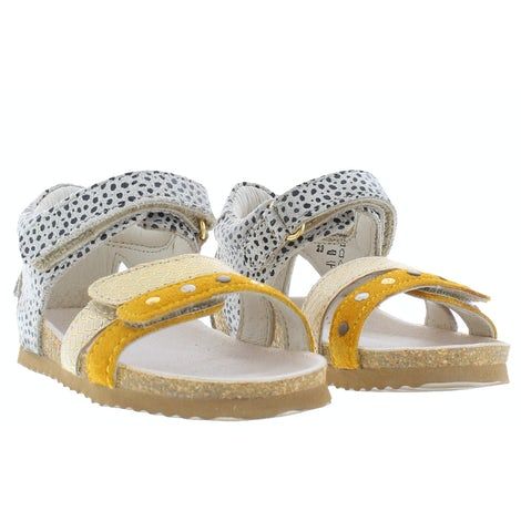 ShoesMe BI21S076-B ochre Sandalen en slippers Sandalen en slippers