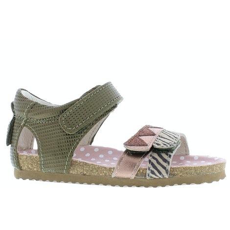 ShoesMe BI21S080-B green Sandalen en slippers Sandalen en slippers
