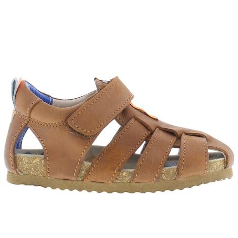 ShoesMe BI21S091-C cognac Sandalen en slippers Sandalen en slippers