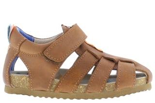 ShoesMe BI21S091-C cognac Jongensschoenen Sandalen en slippers