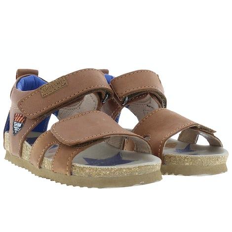 ShoesMe BI21S096-A cognac Sandalen en slippers Sandalen en slippers