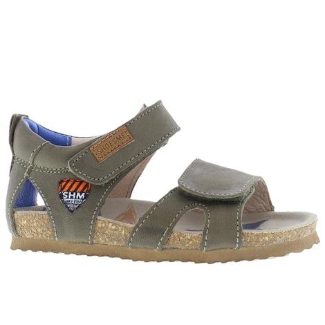 ShoesMe BI21S096-C green Sandalen en slippers Sandalen en slippers
