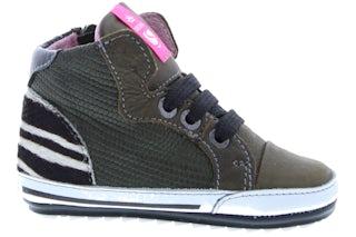 ShoesMe BP20S002-C old silver Meisjesschoenen Veterschoenen