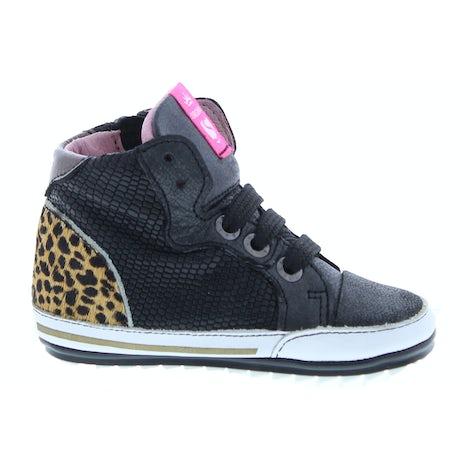 ShoesMe BP20S002-D black Veterschoenen Veterschoenen