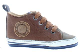 ShoesMe BP20S004-K cognac Jongensschoenen Booties