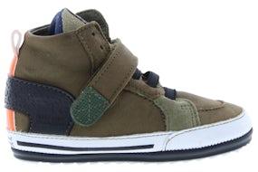 ShoesMe BP20W018-B army green Jongensschoenen Klittebandschoenen