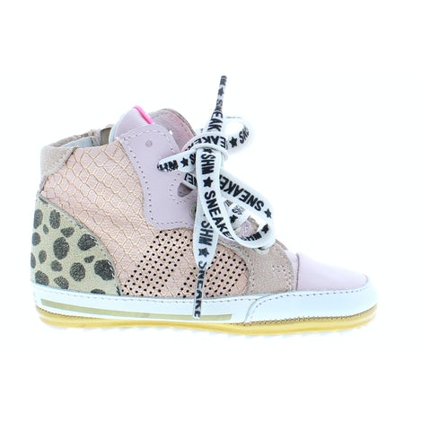 ShoesMe BP21S002-A rosa Veterschoenen Veterschoenen