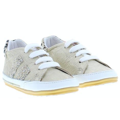 ShoesMe BP21S024-C gold Veterschoenen Veterschoenen
