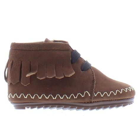 ShoesMe BP21W022-A dark brown Booties Booties