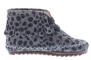 ShoesMe BP21W022-C grey black dots Meisjesschoenen Booties