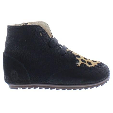 ShoesMe BP21W023-D black ponyhair Booties Booties