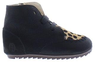 ShoesMe BP21W023-D black ponyhair Meisjesschoenen Booties