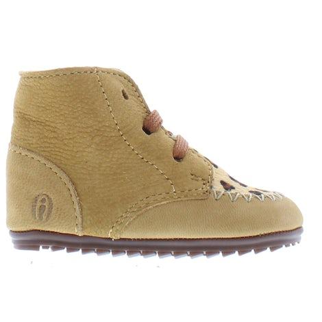 ShoesMe BP21W023-G camel pony leopa Booties Booties