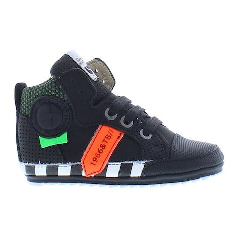 ShoesMe BP21W109-A black orange Booties Booties