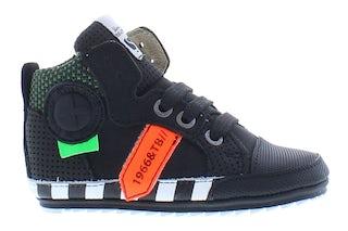 ShoesMe BP21W109-A black orange Jongensschoenen Booties