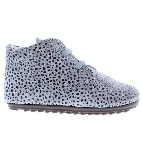 ShoesMe BP9W027-N grey dots Veterschoenen Veterschoenen