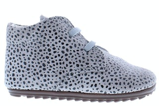 ShoesMe BP9W027-N grey dots Meisjesschoenen Veterschoenen