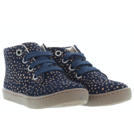 ShoesMe FL21W001-D blue dots Booties Booties