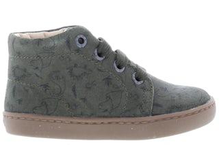 ShoesMe FL21W001-F green print Jongensschoenen Booties