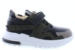 ShoesMe NR20W001-C green black Jongensschoenen Sneakers