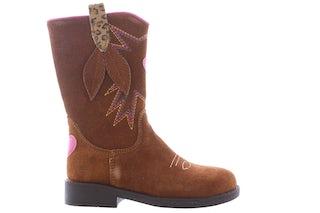 ShoesMe NW21W005-B cognac Meisjesschoenen Booties en laarzen