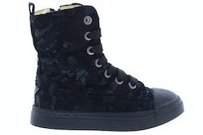 ShoesMe SH20W019-E black metallic Meisjesschoenen Booties