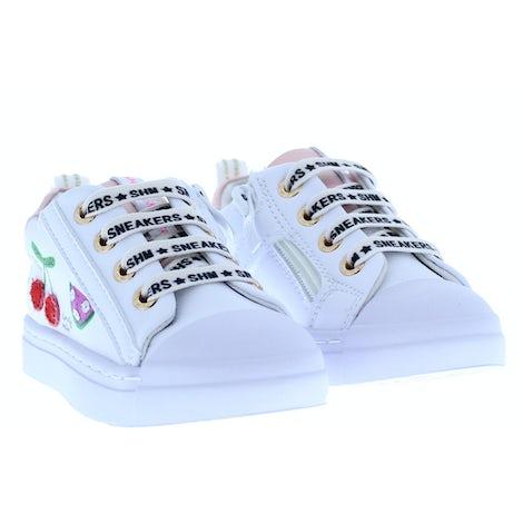 ShoesMe SH21S002-F white cherrie Sneakers Sneakers