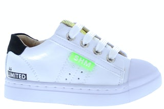 ShoesMe SH21S015-B white black Jongensschoenen Sneakers